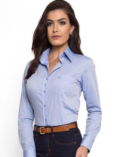 Camisa Social Feminina - Entrega em todo o Brasil  c6e7b35477a37